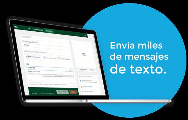 SMS masivos - iKono SMS - Envía miles de mensajes de texto